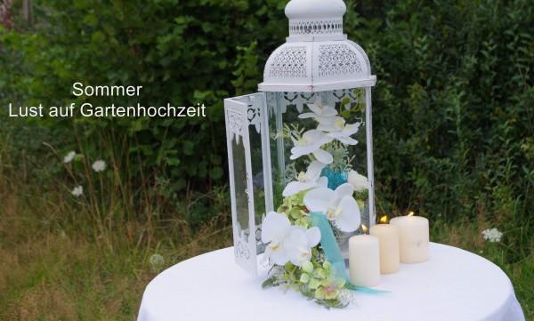 Gartenhochzeit mit Orchideen