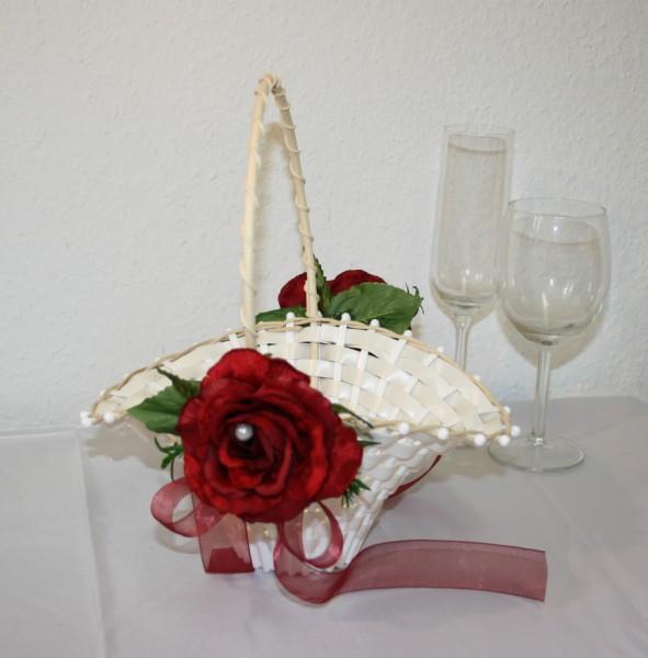 Streukorb Rosenblüten
