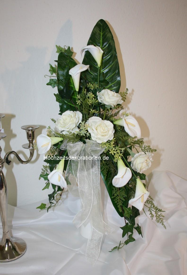 Altarvase Hoch Gesteckt Hochzeitsdekorationen