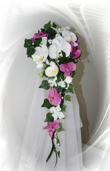 Brautstrauss Orchideen