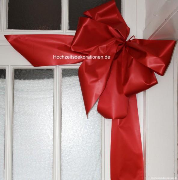 Türschleife Rot weihnachten