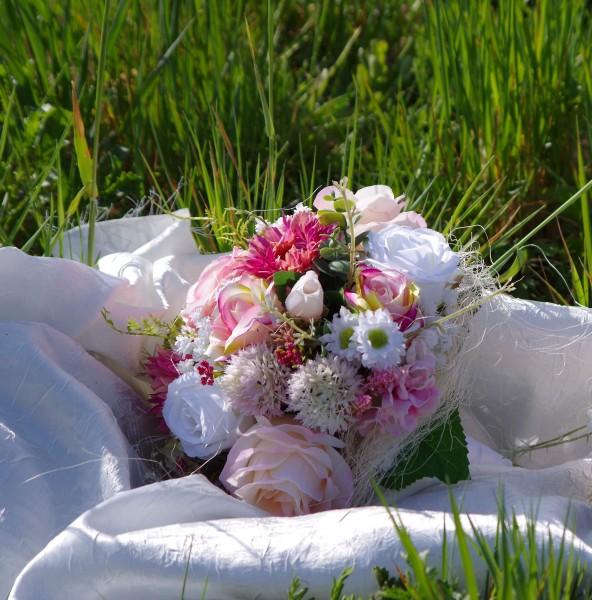 Sommerstrauss Hochzeit