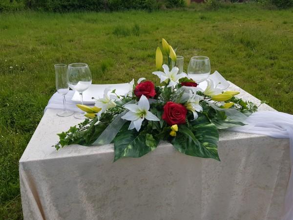 Altargesteck lilien