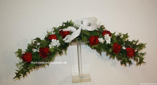 Türbogen Hochzeit tauben