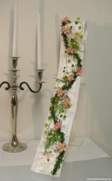 Brautstrauss bandstrauss rosa